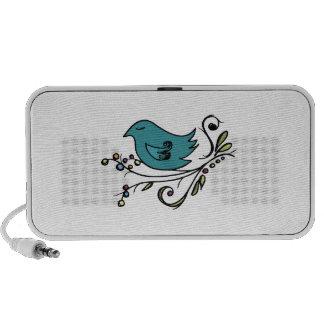 Blauer Vogel Mobile Lautsprecher
