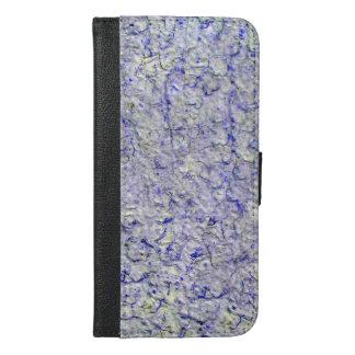 Blauer Wandhintergrund iPhone 6/6s Plus Geldbeutel Hülle