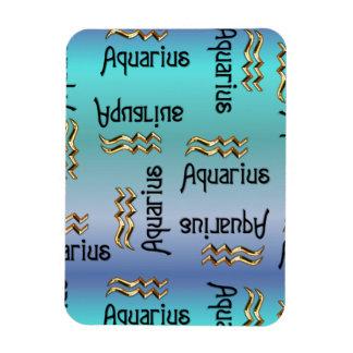 Blauer Wassermann, Zeichen des Tierkreises Magnet