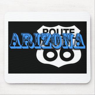 Blauer Weg 66 Arizonas fertigen es besonders an! Mauspad