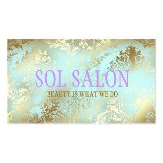 Blauer Wellness-Center, Salon oder Butike mit 311 Visitenkarten Vorlage