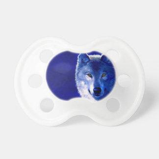 Blauer Wolf Schnuller