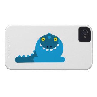 Blauer wütender Drache iPhone 4 Etuis