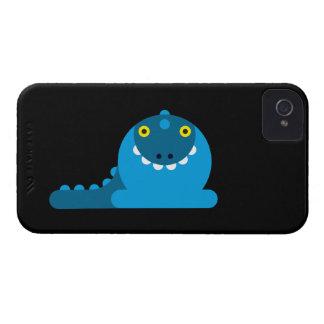 Blauer wütender Drache Case-Mate iPhone 4 Hülle
