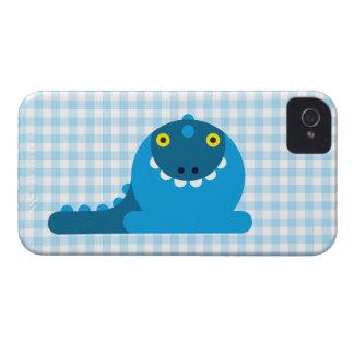 Blauer wütender Drache iPhone 4 Case-Mate Hüllen
