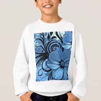 Blauere Blumen Sweatshirt