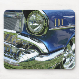 Blaues ` 57 Chevy - Mousepad