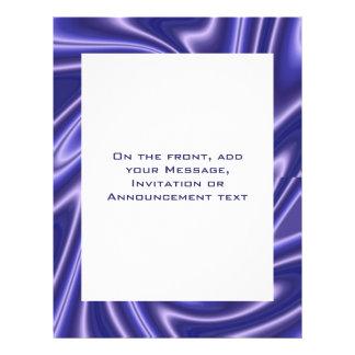 blaues abstraktes personalisierte flyer