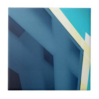 Blaues abstraktes keramikfliese