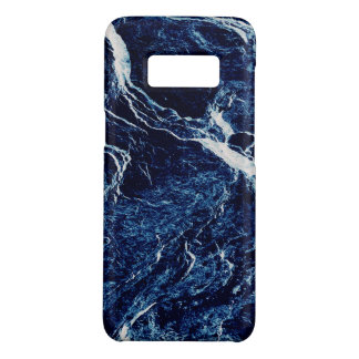 Blaues abstraktes Muster Case-Mate Samsung Galaxy S8 Hülle