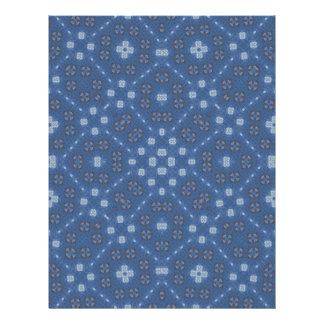 Blaues abstraktes Muster