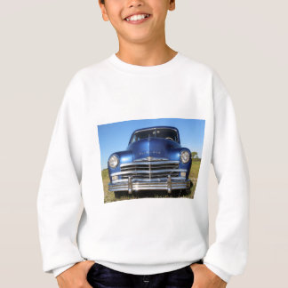 Blaues altes Mode-Auto Plymouths Sweatshirt