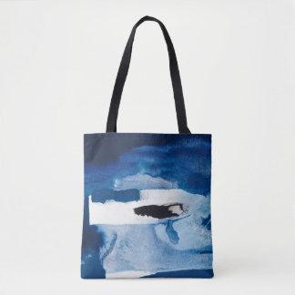 Blaues Amore II Tasche