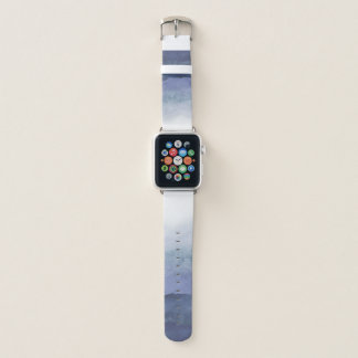 Blaues Aquarell Ombre Apple Uhrenarmband Apple Watch Armband