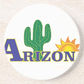 blaues Arizona Sandstein Untersetzer