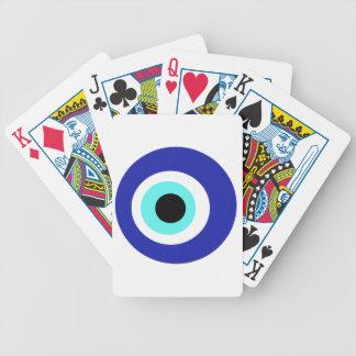 Blaues Auge Bicycle Spielkarten