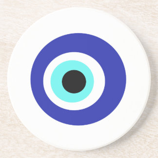 Blaues Auge Getränkeuntersetzer