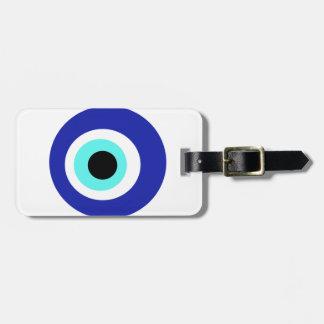 Blaues Auge Kofferanhänger