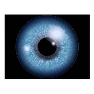 blaues Auge, Postkarten