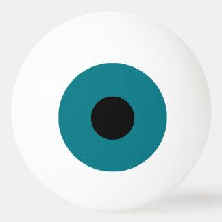 Blaues Auge Tischtennis Ball