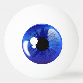 Blaues Augen-Ball-Iris-lustiger Neuheits-Klingeln Ping-Pong Ball