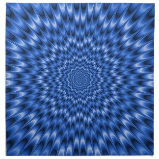 Blaues Augen-Bieger-Amerikaner MoJo Servietten