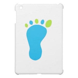 Blaues Baby-Fuß iPad Mini Hülle