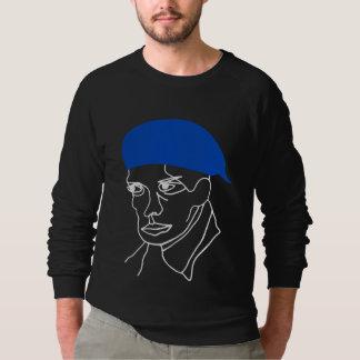 Blaues Barett Sweatshirt