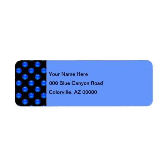 Blaues Blasen-Schwarzes 1
