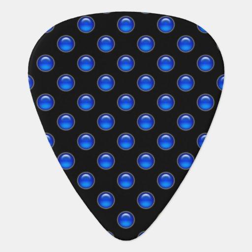 Blaues Blasen-Schwarzes Plek