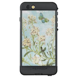 Blaues botanisches LifeProof NÜÜD iPhone 6s plus hülle