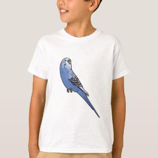 Blaues Budgie T-Shirt
