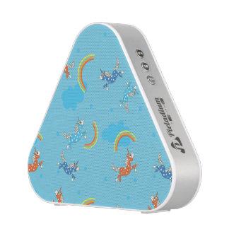 Blaues Cartoonmuster des niedlichen Bluetooth Lautsprecher