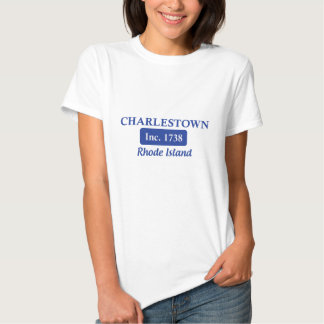 Blaues Charlestown Rhode Island Hemden