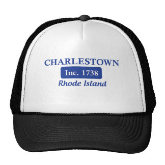 Blaues Charlestown Rhode Island Retrocap