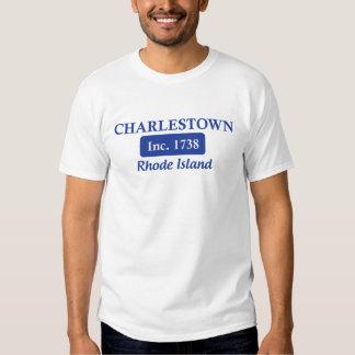 Blaues Charlestown Rhode Island Shirts