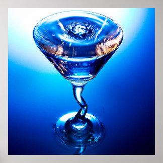 Blaues Cocktail