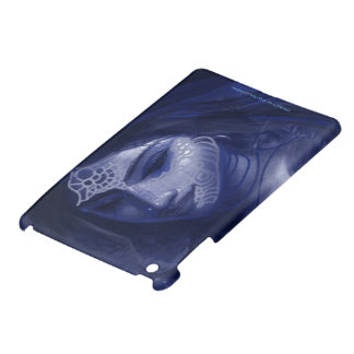 blaues desi Mädchen iPad Mini Hülle