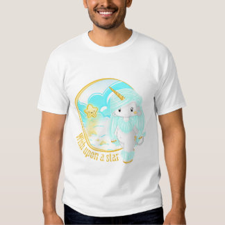 Blaues Einhorn PO Tshirts