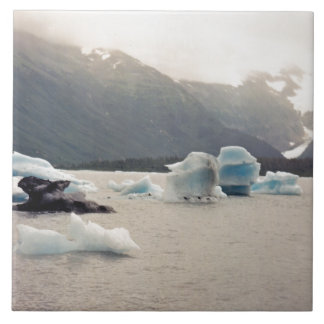 Blaues Eis Fliese