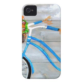 Blaues Fahrrad Zazzle Case-Mate iPhone 4 Hülle