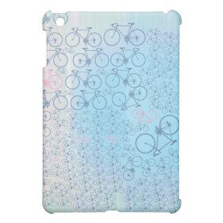 blaues Fahrradmotiv iPad Mini Hülle