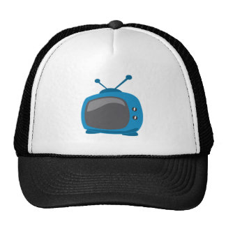 Blaues Fernsehen Mützen