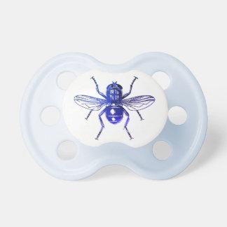 Blaues Fliegen-Insekt Schnuller