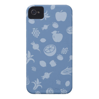 Blaues fruchtiges iPhone iPhone 4 Hüllen