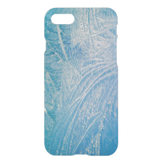 Blaues gefrorenes Eis iPhone 7 Hülle