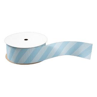 Blaues gestreiftes Grosgrain-Pastellband Ripsband