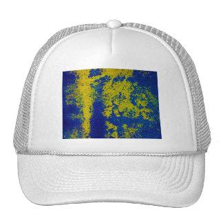 Blaues Gold Baseball Cap