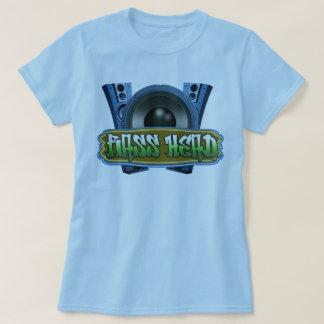 Blaues Grün angesagter T-Shirt