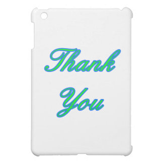 Blaues Grün danken Ihnen, das MUSEUM Zazzle Gesche iPad Mini Hüllen